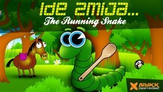 Ide Zmija (Running Snake) - Amazing Cartoon Music Video for Kids