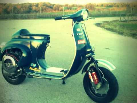 vespa 50r polini 115 tuning youtube. Black Bedroom Furniture Sets. Home Design Ideas