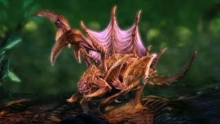 Zergling Evolution: Raptor and Swarmling (Starcraft 2: Heart of the Swarm)