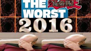 Yugioh Top 10 Worst Plays/Cheats of 2016 Caught on Camera!!!