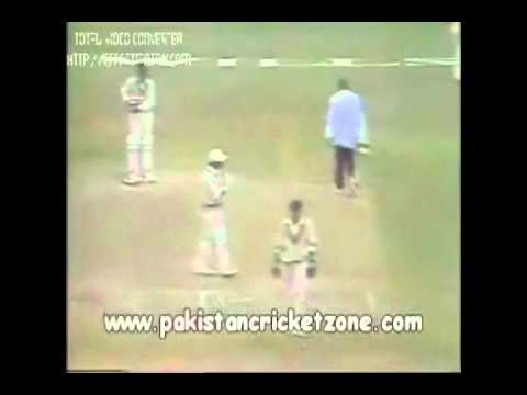 Indian Batsman crying/ Imran Khan Greatness Another Chance given although the batsman was out!