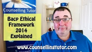 Understanding the Ethics in Counselling