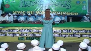 KH  Amin M Budi Harjono NU Wonopringgo 1436 H