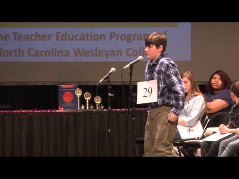 Southern Nash Middle School student wins local Spelling Bee