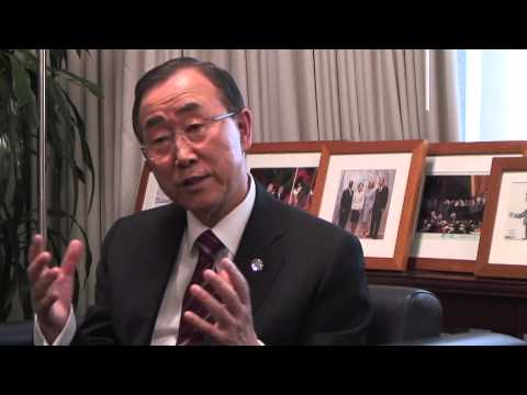 Priorities – Behind the scenes with UN Secretary-General Ban Ki-moon