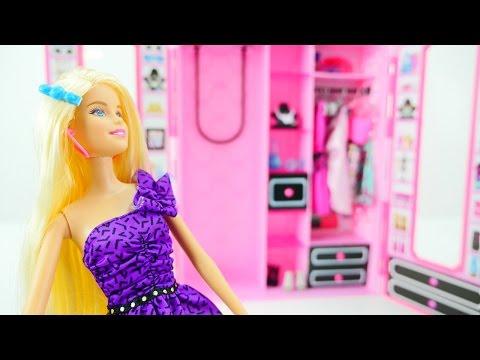 Игрушечный шкаф для куклы Барби - Как стать аккуратными?