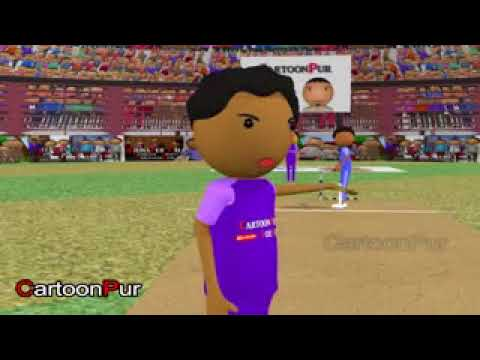 MAKE JOKE OF IPL   CARTOONPUR KA IPL HINDI CARTOON COMEDY