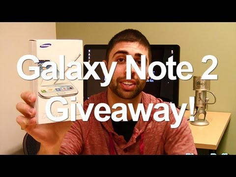 Samsung Galaxy Note 2 Giveaway!