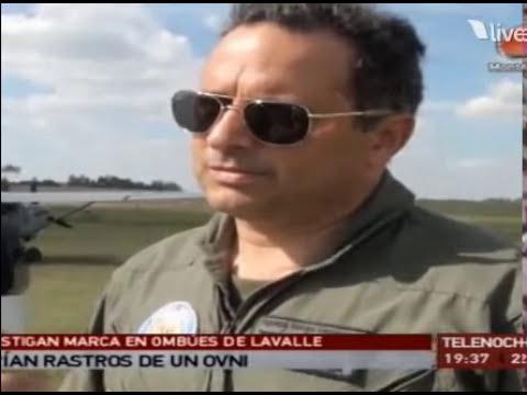 Rastro de ovni en Uruguay (Colonia)
