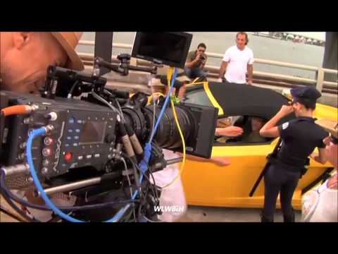 "William Levy @willylevy29 filming ""Sabritas"" commercial ""Traffic"" - Behind the scenes"