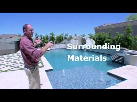 Swimming Pool Water Color - YouTube