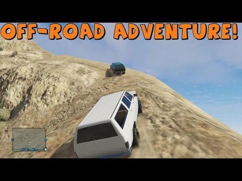 Grand Theft Auto 5 | Rancher XL | Off-Roading/Rock Crawling Adventure | New Dirt Trails