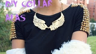 DIY collar alas