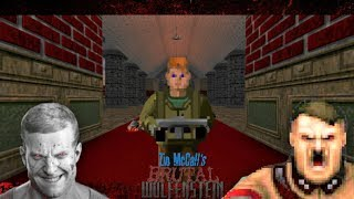 Brutal Wolfenstein 3D V5.0 Episode 1 [100% EVERYTHING] 1440p 60fps