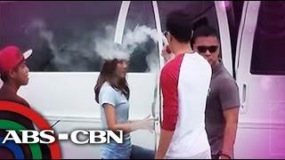 Daniel Padilla, itinangging naninigarilyo