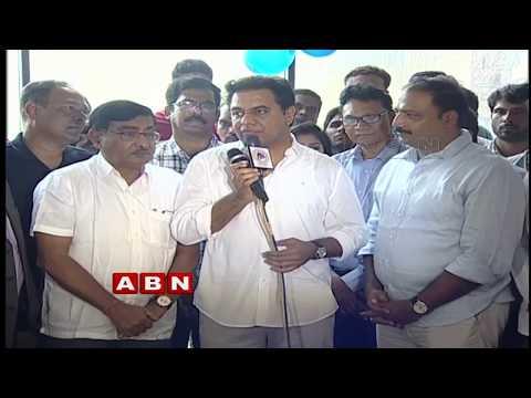 Telangana IT Minister KTR Participates In Haritha Haram | ABN Telugu