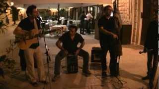 Biancofiore Trio and Roberto Calabrese at Take Five wine bar - Giugno 2012