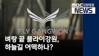 투R) 벼랑 끝 플라이강원, 매각되나?