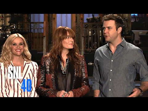 Florence Loses Her Machine Before Promos with Reese Witherspoon and Taran