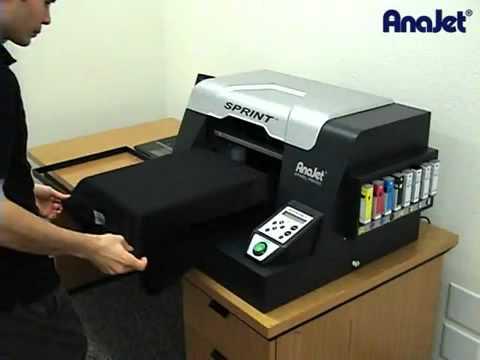 ANA-JET SPRINT - Impressão direta em Tecidos