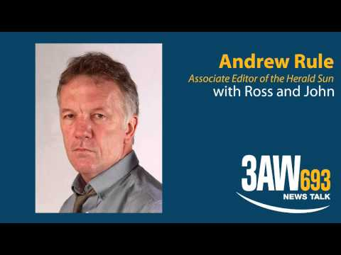 Andrew Rule on allegations of Police corruption