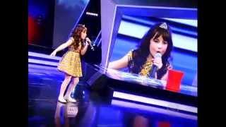 Giulia Soncini deixa plateia boquiaberta com música Tudo Que Se Quer
