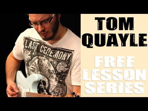 Lesson Guitar - Guthrie Govan - A Major Minor Pentatonic Demo Solo Example 53