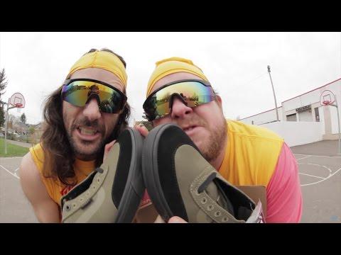100 Kickflips in the Vans Gilbert Crockett Pro 2 Shoes