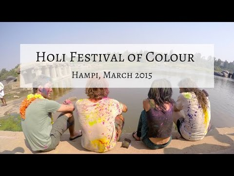 Hampi & Holi Festival of Colours 2015 | India