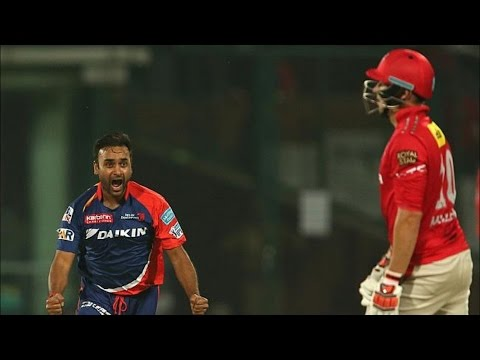 IPL 2016 | Kings XI Punjab vs Delhi Daredevils | Amit Mishra Helps Delhi Restrict Punjab To 111 Runs