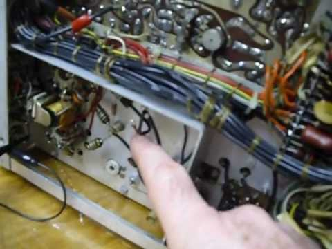 SB110-6 Heathkit SB110,restoring a boat anchor,fixing old amateur radios,SB110,SB110A,HW101,SB102,