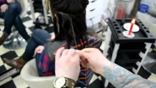 Velaterapia-New Hair Style With Fire Technique (Frizersko Studio Deki)
