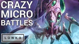 StarCraft 2: CRAZY MICRO BATTLES!