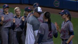 FIGHT ALERT?! Auburn Soft Ball Player and Florida Head Coach almost get into