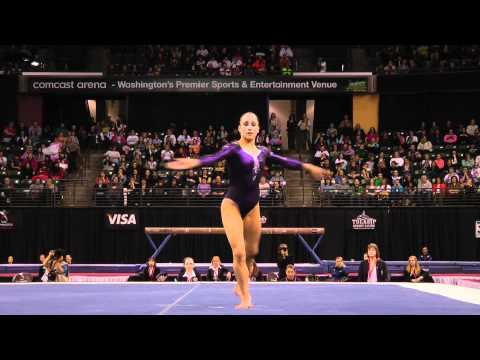 Jordyn Wieber - Floor Exercise Finals (1st place!) - 2012 Kellogg&#039;s Pacific Rim Championships