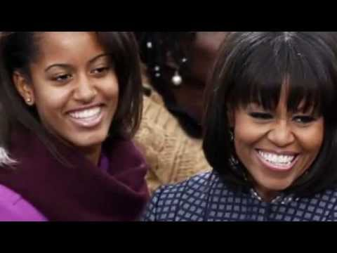 Style, elegance and her mother's winning smile: How Malia Obama is turning into a Michelle Jr
