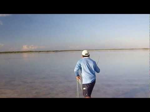 Mexico Flats Fishing for Bonefish on Ascension Bay with Jose Enrique Ucan Briceno