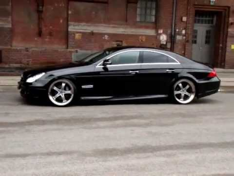 MEC Design W219 CLS500 CLS55AMG MEC Design Bodykit + MEC Design wheels 11+12 satin black