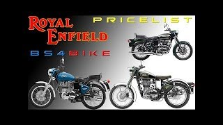 New Price Royal Enfield Motercycle After GST 2017 Bullet 350cc500cc Classic,Electra