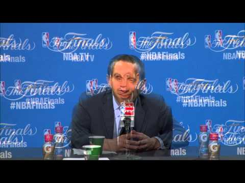 What David Blatt said after Cleveland Cavaliers beat Warriors in Game 3 of 2015 NBA Finals