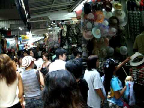Pratunam Markett Bangkok, Thailand