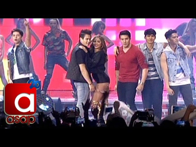"ASAP London: Kapamilya Stars dance to ""Nae Nae"" & ""Twerk It Like Miley"""