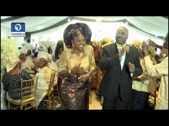 Metrofile: George And Yewande Tie The Nuptial Knot