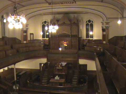 Dead March Saul Handel  Tabernacle Chapel Llanelli Swansea Organ...