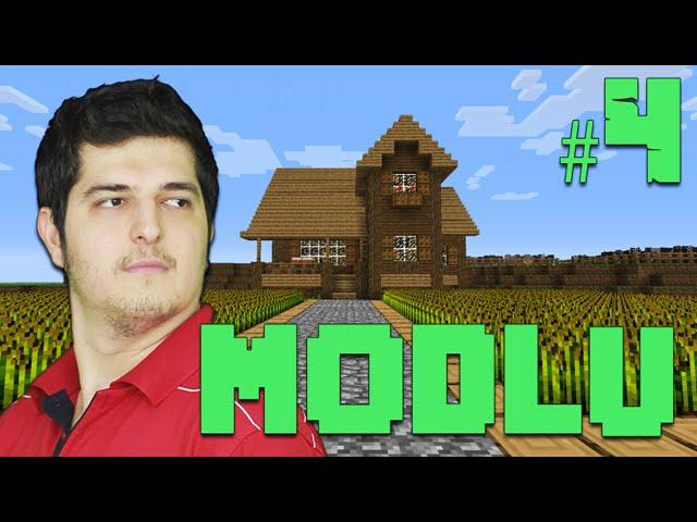 Modlu Minecraft #4 - Çiftlik ve Tarla Yapımı