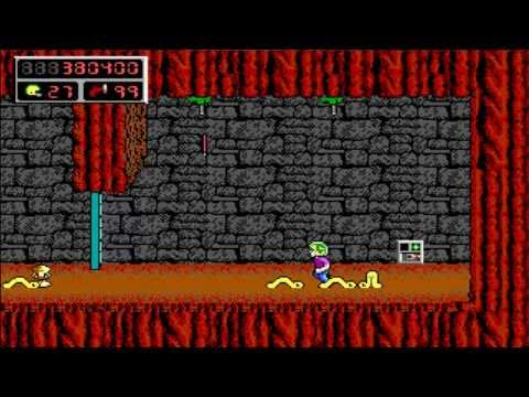[PC] - Commander Keen 4 Secrets of the Oracle - 13 Pyramid Of The Moons