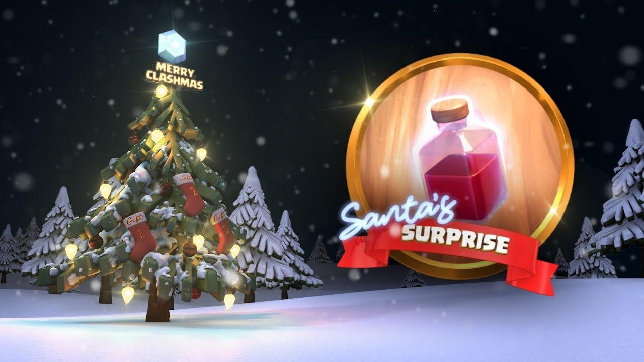 Clash of Clans: Santa's Surprise Spell (Clashmas 2017)
