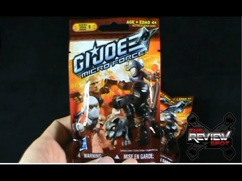 Collectible Spot - Hasbro G.I.JOE Micro Force Series 1