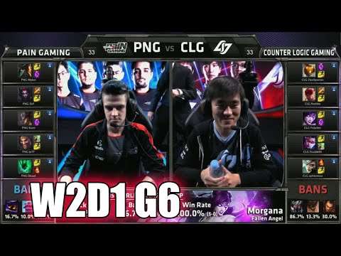 CLG vs paiN Gaming Game 2 | Week 2 Day 1 Group A LoL S5 World Championship 2015 | PNG vs CLG G2