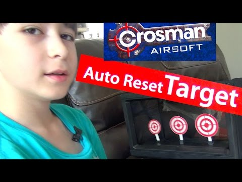 Crossman Airsoft Auto Reset Target with Robert-Andre!
